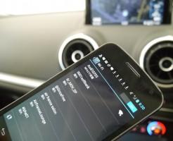 Wi-Fi搭載された新アウディA3 *GQ Japan