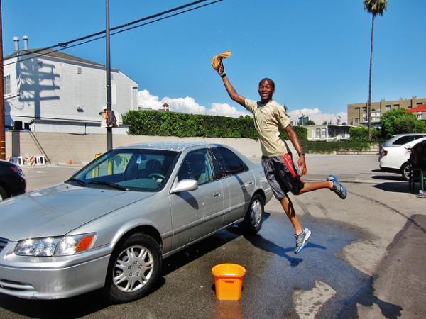査定 洗車
