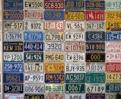 967 North American License Plates