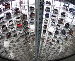Volkswagen Car Tower Wolfsburg