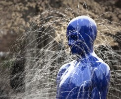 Leaking sculpture