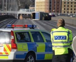 Road traffic accident, Redheugh Bridge, Gateshead