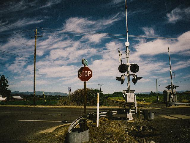 Railroad Crossing (Talent, Oregon)