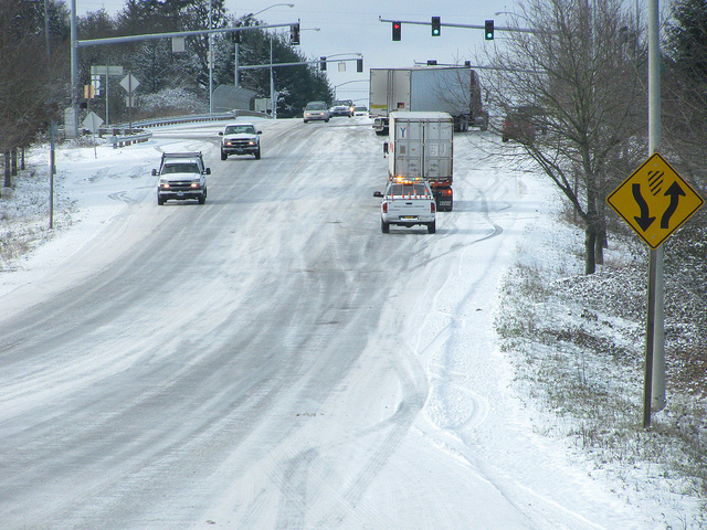 Snow and ice conditions