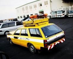 nissan cedric road maintenance vehicle