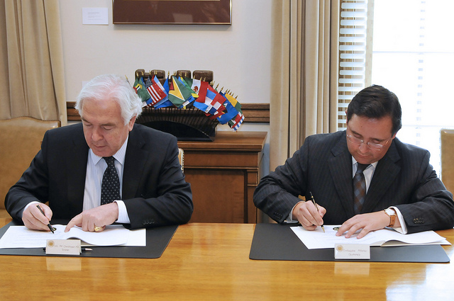 OAS and Permanent Court of Arbitration Sign Cooperation Agreement